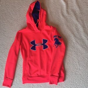 """Under armour """"Just Ride"""" hoodie"""